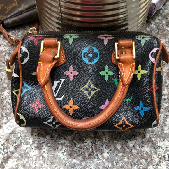 Louis Vuitton Handbags - Authentic Louis Vuitton Mini Nano Speedy Bag RARE af523344feb80